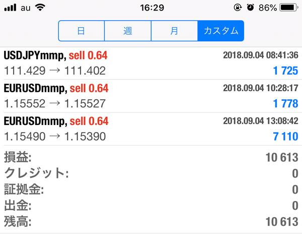2018-9-4FX自動売買履歴